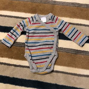 Hanna Andersson Striped Bodysuit- NWOT